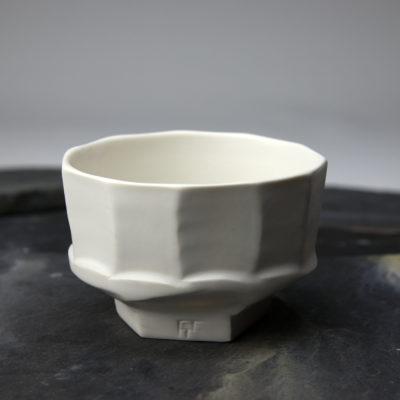 Bol U en porcelaine émaillée