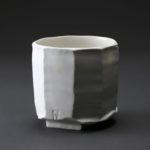Bol bas en céramique, porcelaine émaillée blanc
