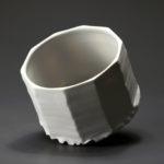 Bol en céramique, porcelaine émaillée blanc