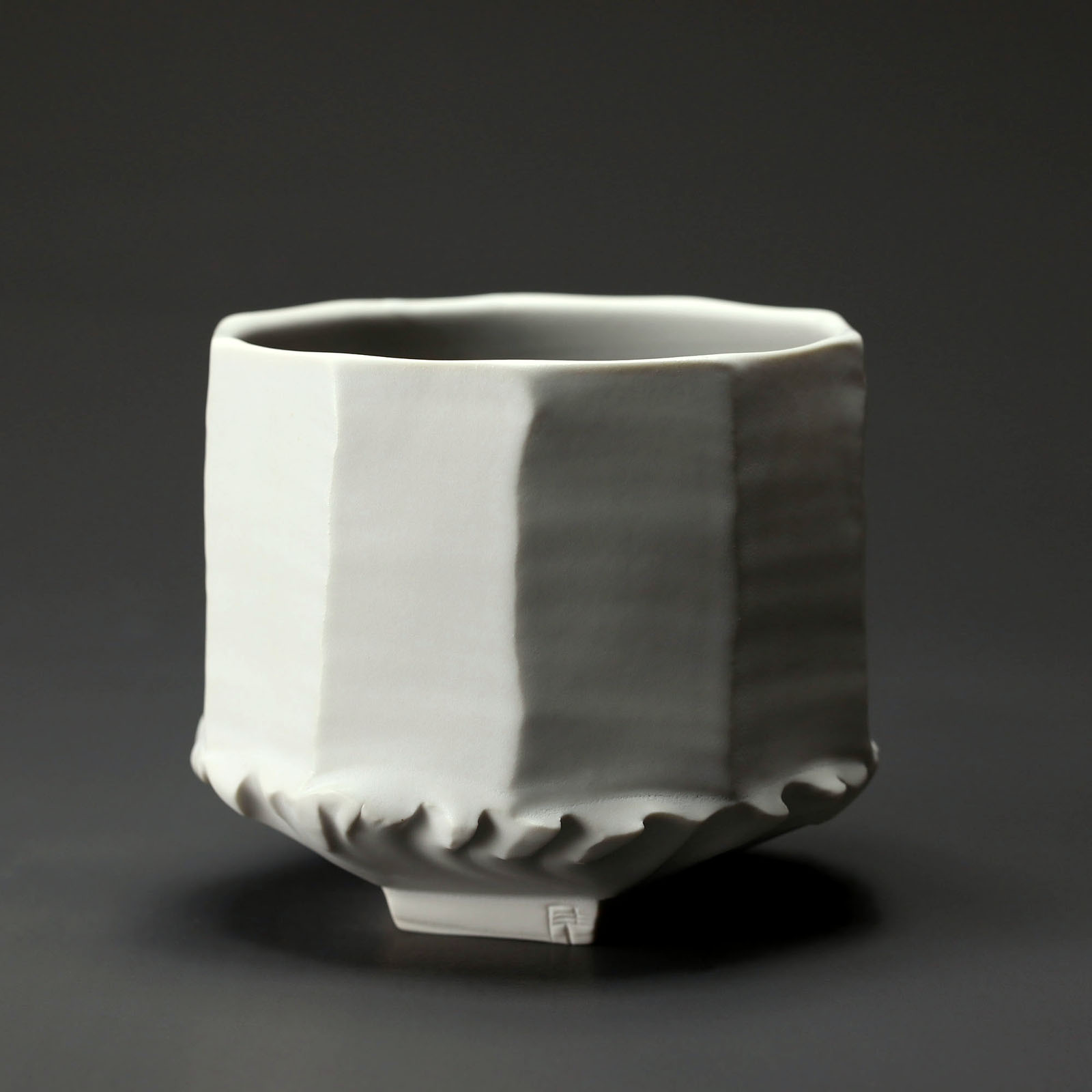 bol 900 en céramique, porcelaine émaillée blanc
