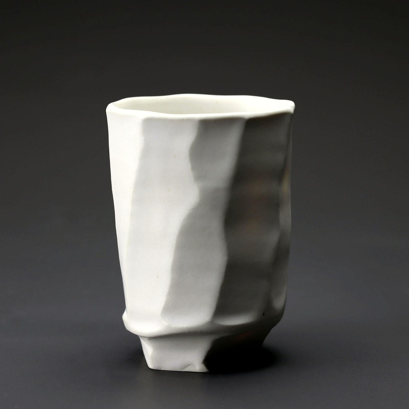 bol 912 en céramique, porcelaine émaillée blanc