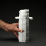 Vase céramique, porcelaine émaillée